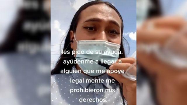 Ale mujer trans despedida por la empresa Oshkosh de León, Guanajuato