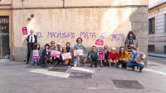 """Travestis se unen a la contramanifestación del 8M por un """"día de la mujer diferente"""""""