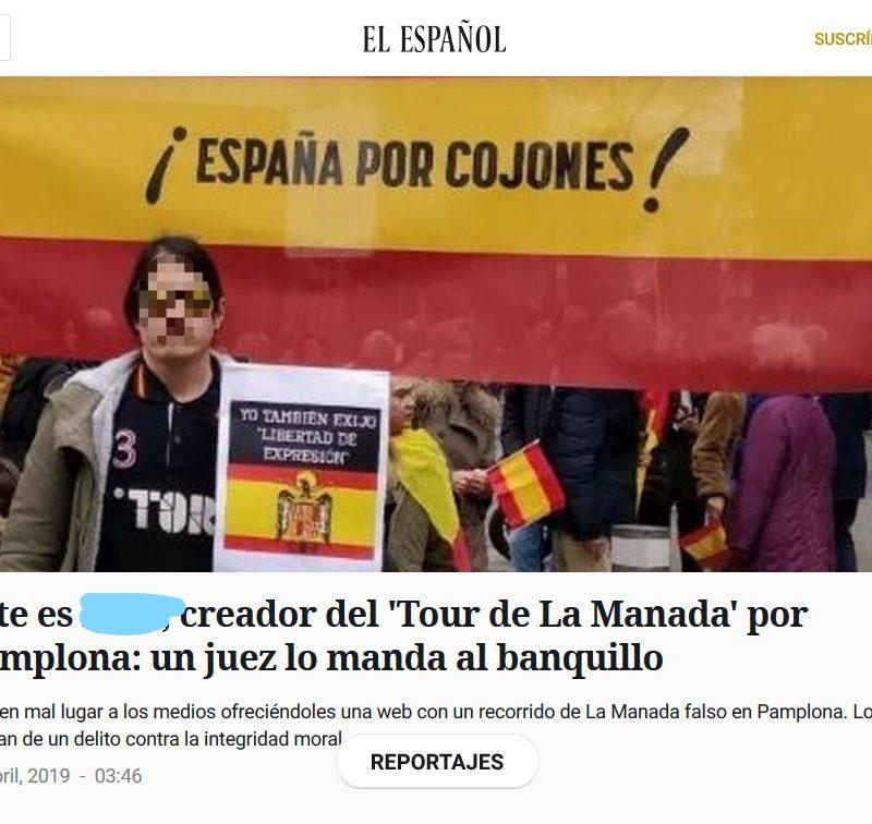 Diario del proceso judicial del Tour de La Manada