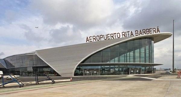 El primer punto de unión de las españas será este aeropuerto. Imagen por Strambotic.