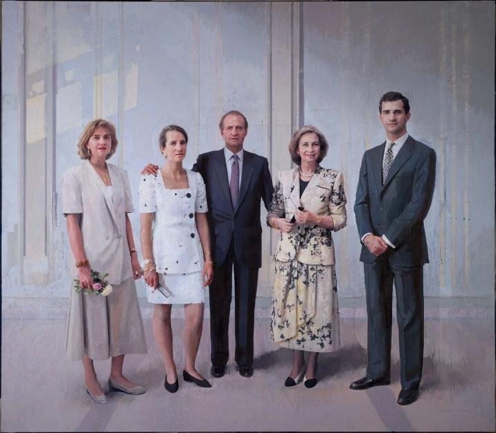 La familia real, por Antonio López