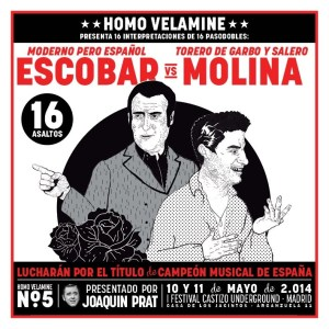 Homo Velamine no.5: Manolo Escobar vs Antonio Molina
