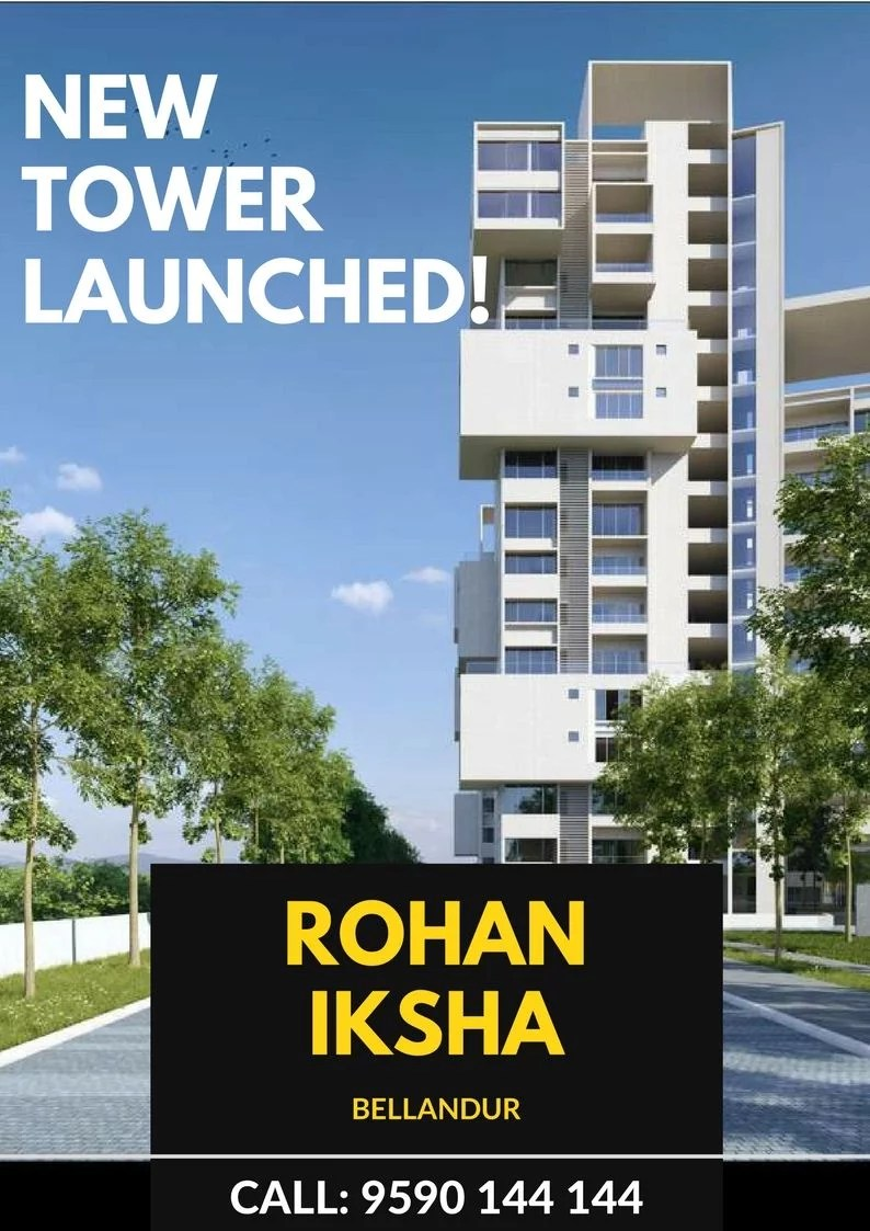Rohan Iksha New Tower Ad – Homz N Space