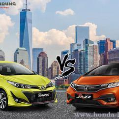 Toyota Yaris Trd Vs Honda Jazz Rs All New Camry 2018 Australia Komparasi Info Sales 0819 3121 3334