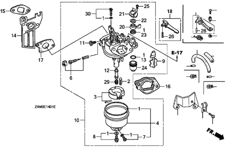 Honda Gx390 Electric Start Wiring Diagram. Honda. Wiring