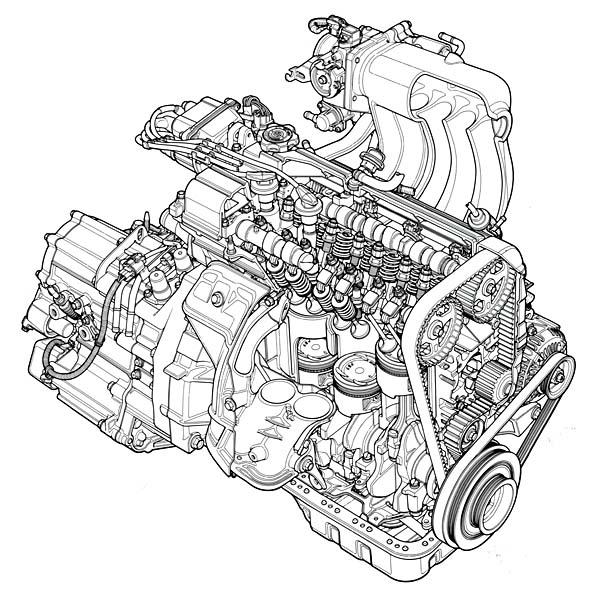 K20 Engine Diagram