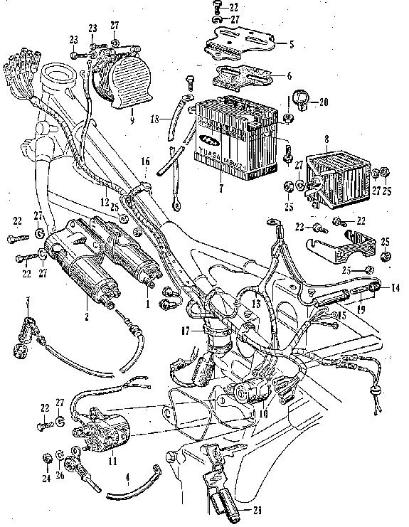 CB77: F-16 Wiring Harness, Battery