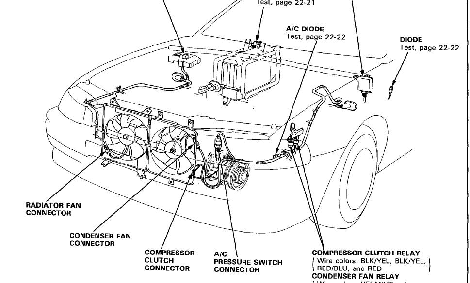Wiring Diagram For 2003 Santa Fe Air Conditioner Condesor