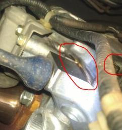 2005 honda accord lx 100k oil leak near timing cover imag1336 jpg  [ 1235 x 739 Pixel ]