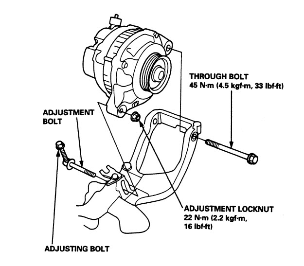 1997 Honda Accord V6 Serpentine Belt Diagram. Honda. Auto