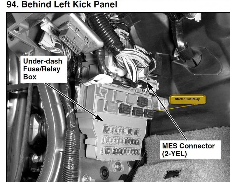 2006 Acura Tsx Fuse Diagram Relay In Dash Buzzes Sometimes Might Not Start Starter