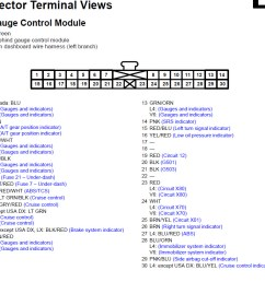 2004 honda accord instrument cluster wiring gauge control module jpg [ 1040 x 846 Pixel ]
