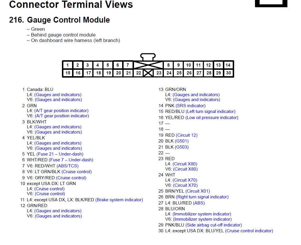 hight resolution of 1996 honda accord speedometer wiring diagram