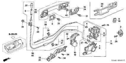 Honda Pilot Rear Door Diagram Mazda Protege5 Rear Door