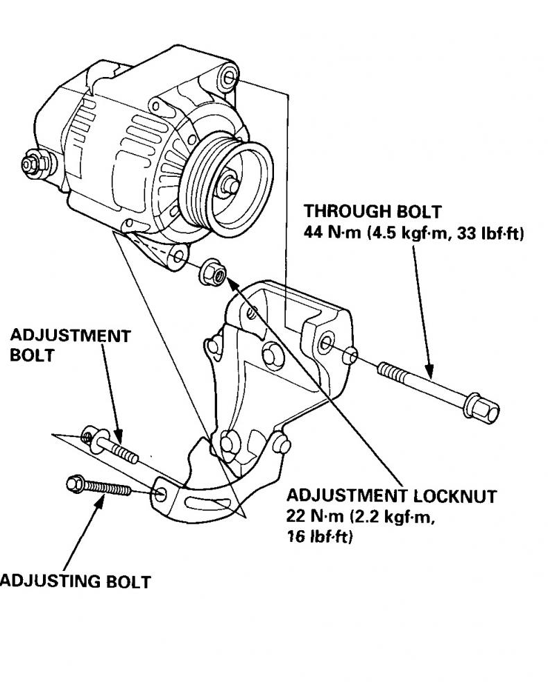 Honda 4 Wire Alternator Wiring Diagram