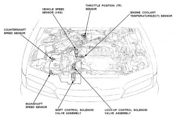 1996 Honda Accord Transmission Selector Wiring Diagram