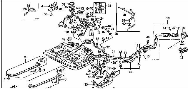 honda accord fuel system diagram