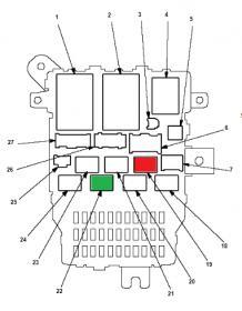 07 Honda Accord Relay Location. Honda. Wiring Diagram Images