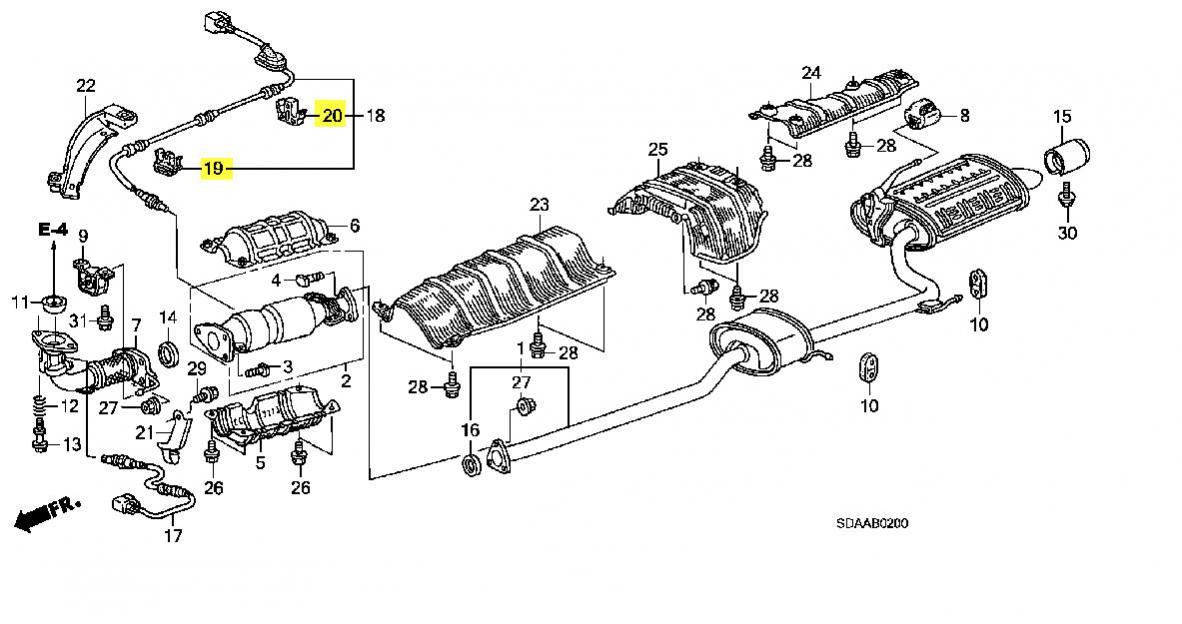 Airbag Impact Sensor Wiring Harnes