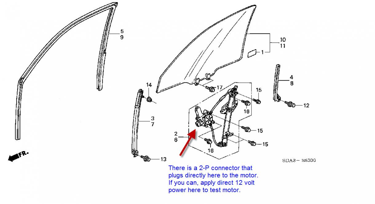 Honda Accord Window Regulator Diagram Html