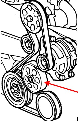 2005 Honda Pilot Serpentine Belt Diagram