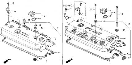 1997 Honda Accord LX Oil leak...Maybe Valve Cover Gasket