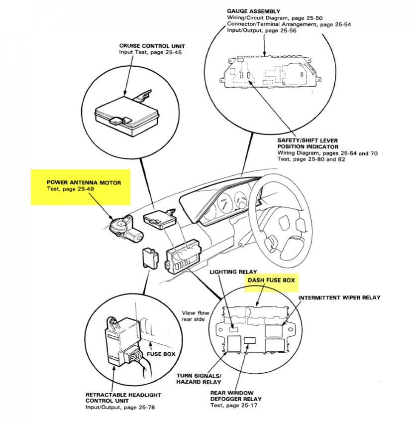 Honda Power Antenna Wiring Diagram Power Converter Wiring