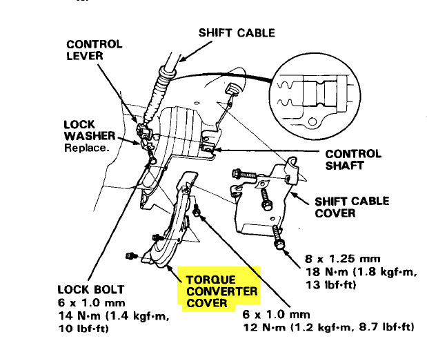 Service manual [Removing Torque Convertor 2008 Honda