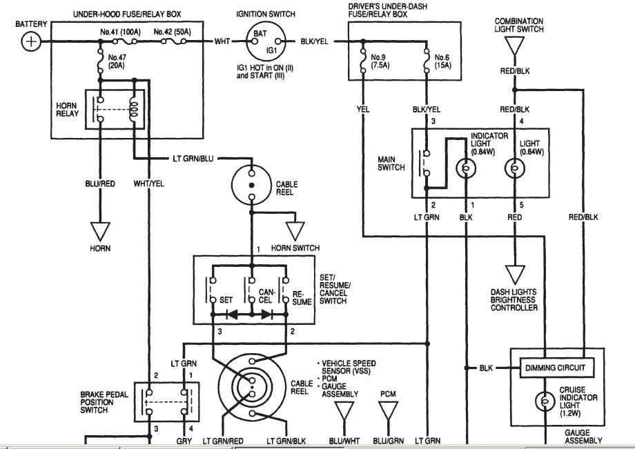 2002 Honda Accord Cruise Control Wiring Diagram Pdf
