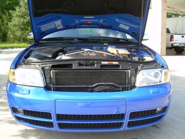 FSFT Twin Turbo 2001 Audi S4 Nogaro Blue Honda Accord
