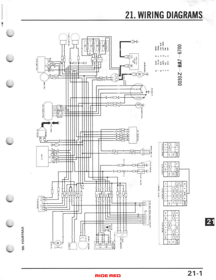 medium resolution of click image for larger version name 1986 fourtrax wiring