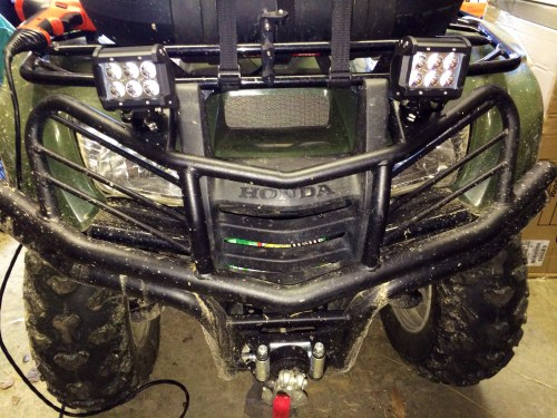 small resolution of wiring up led lights on a honda pioneer data diagram schematic atv led wiring diagram