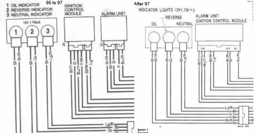 1999 honda 300 fourtrax wiring