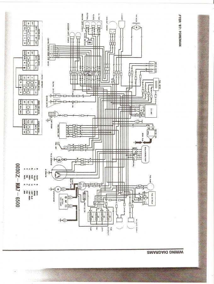 Honda Trx350d No Spark Electrical Help