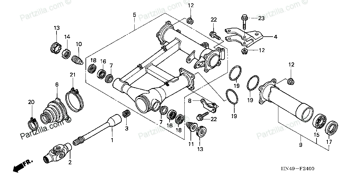 honda recon 250 rear axle diagram wiring for samsung dryer help! bearing stuck in swing-arm - page 2 atv forum