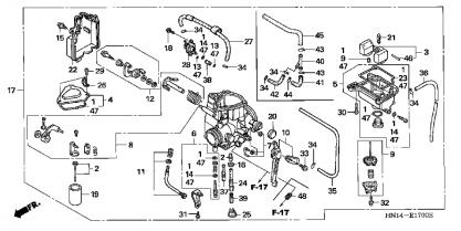 F6a Carburetor Vacuum Line Diagram, F6a, Free Engine Image