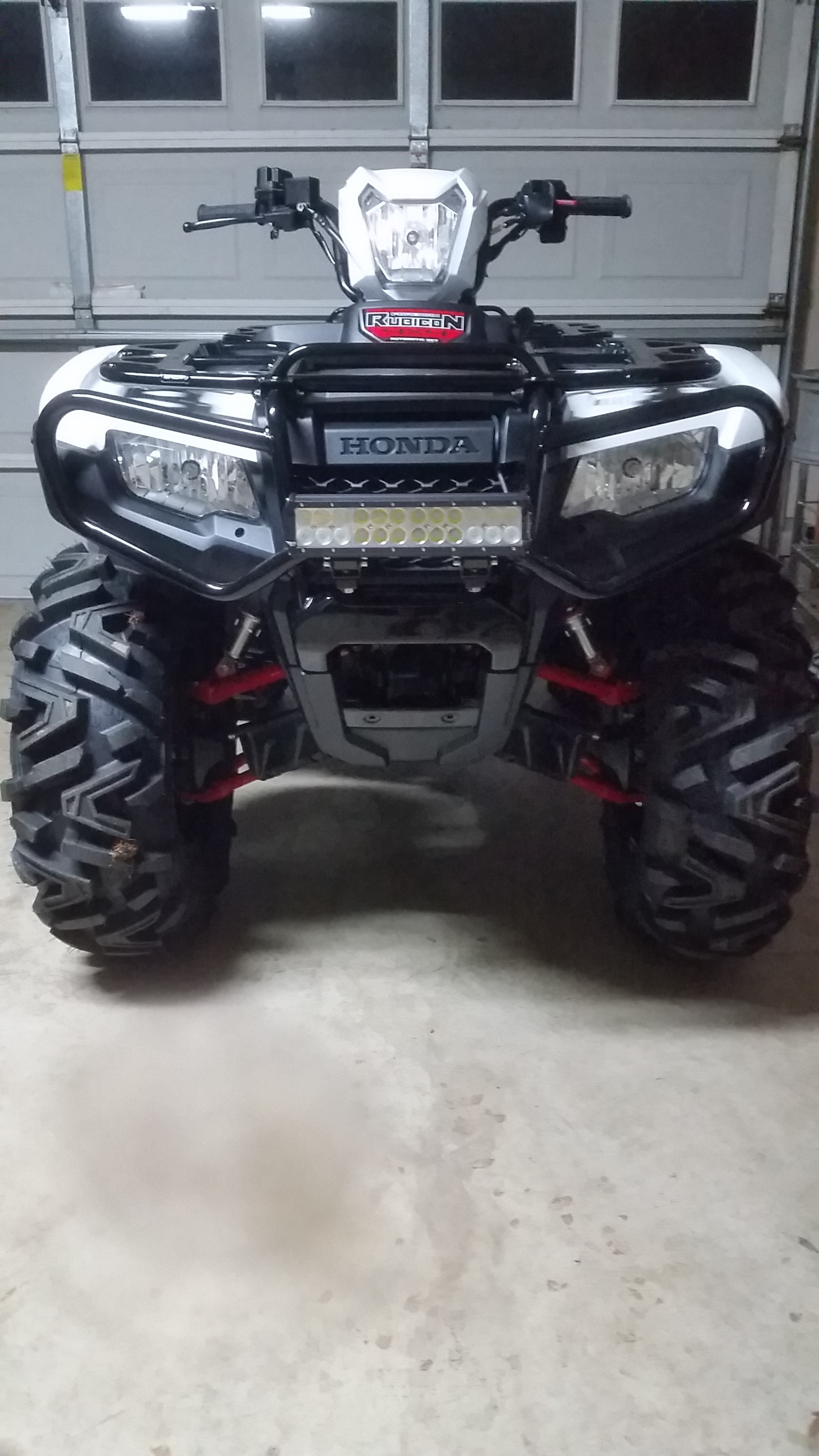 12 Led Light Bar On 2016 Rubicon Honda Atv Forum