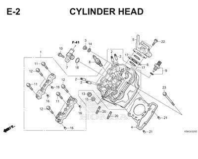 Katalog Suku Cadang Honda Supra GTR 150 K56F