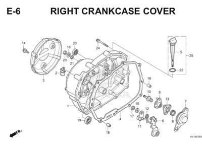 Katalog Suku Cadang Honda Supra X 125 FI K41