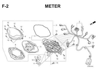 Wiring Diagram Keelectrican Sepeda Motor