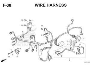 Katalog Suku Cadang Honda Revo FI K03 | Honda Cengkareng