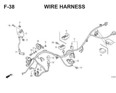 Katalog Suku Cadang Honda Supra X 125 Helm-In KYZ