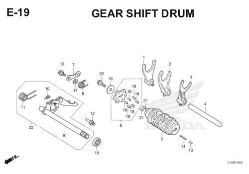 Katalog Suku Cadang Honda New CB150R StreetFire K15
