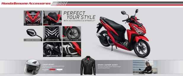 Aksesoris Honda Vario 125 Esp 150 K59j