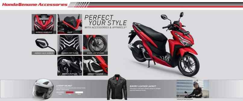 Aksesoris Resmi Motor Honda Vario 150 125 Esp K59j