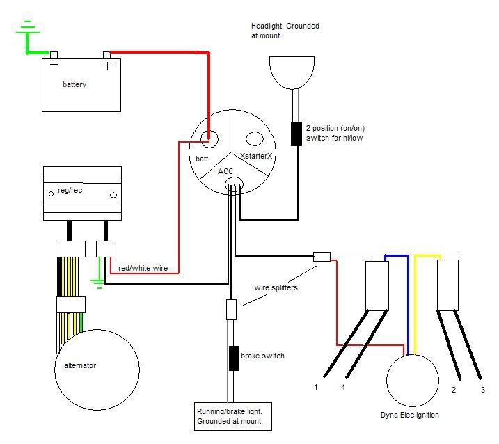 Dyna Chopper Wiring Diagram | Wiring Diagram on