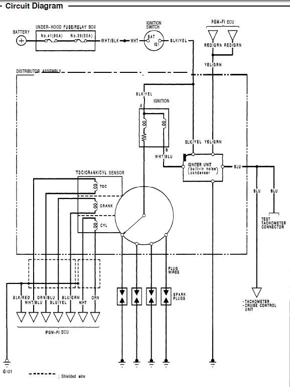 D15b Distributor Wiring Diagram