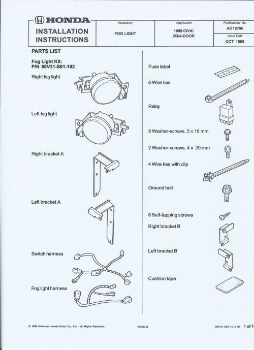 small resolution of jdm fog light wiring diagram