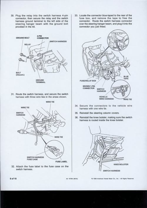 small resolution of 2000 civic fog lights wiring diagram list of schematic circuit 96 97 98 honda civic oem