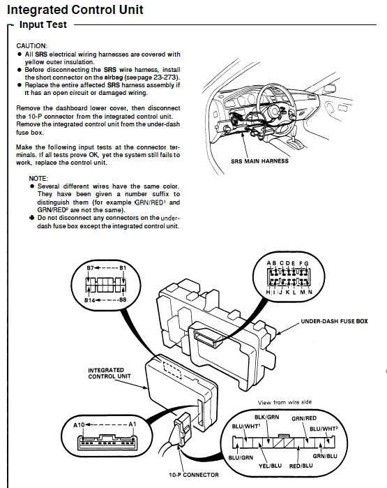 Honda Civic Wiper Motor Wiring Diagram